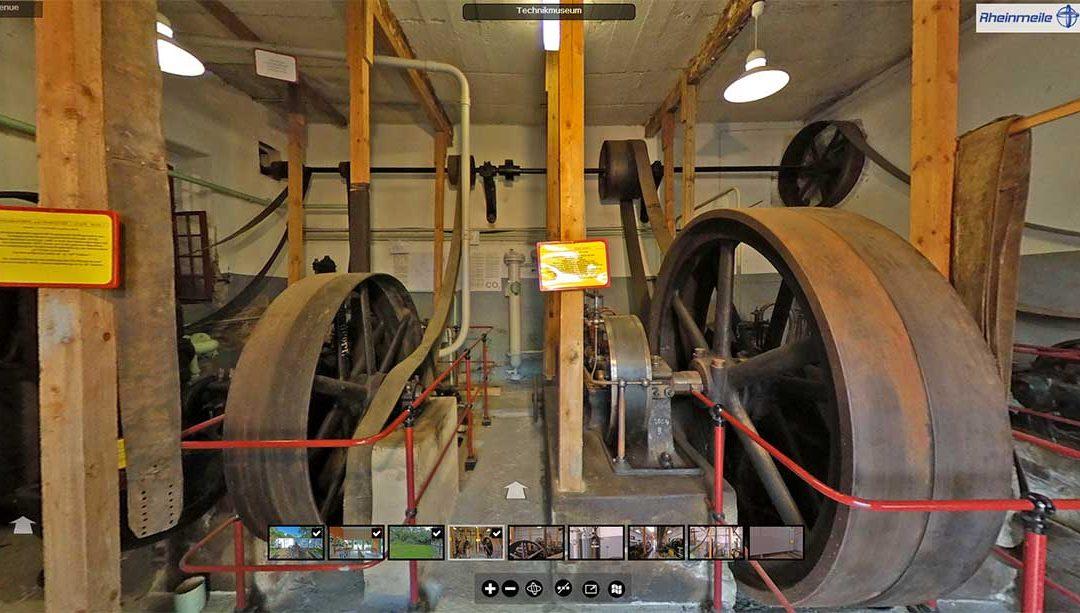 Kurpark mit Technikmuseum in Bad Bodendorf