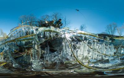 Eis an der Ahr